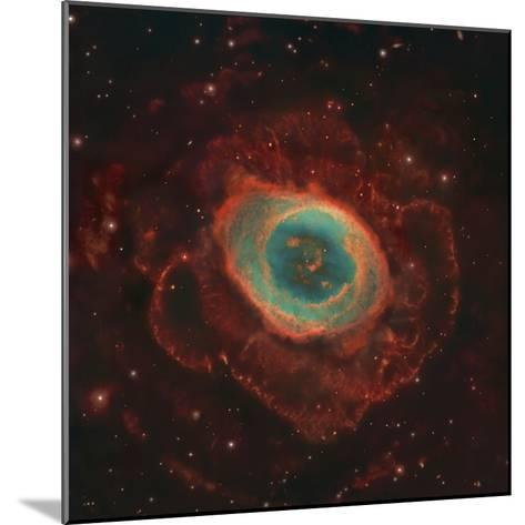 Messier 57, the Ring Nebula-Stocktrek Images-Mounted Photographic Print