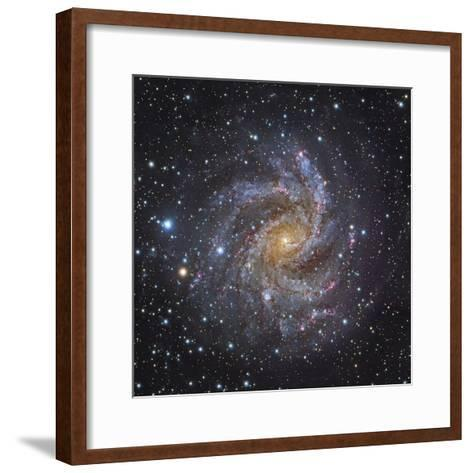 NGC 6946, a Spiral Galaxy in Cepheus-Stocktrek Images-Framed Art Print