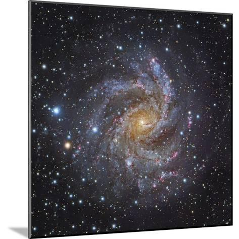 NGC 6946, a Spiral Galaxy in Cepheus-Stocktrek Images-Mounted Photographic Print