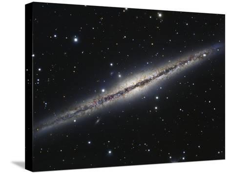 NGC 891, An Edge-on Spiral Galaxy in Andromeda-Stocktrek Images-Stretched Canvas Print