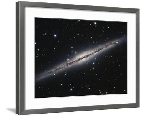 NGC 891, An Edge-on Spiral Galaxy in Andromeda-Stocktrek Images-Framed Art Print