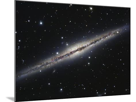 NGC 891, An Edge-on Spiral Galaxy in Andromeda-Stocktrek Images-Mounted Photographic Print