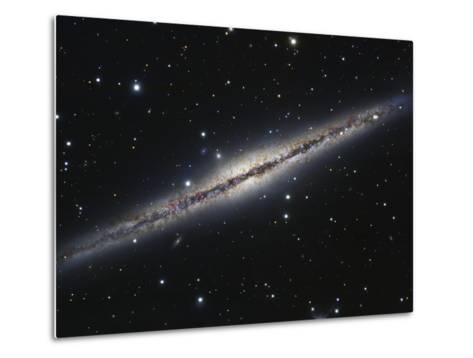 NGC 891, An Edge-on Spiral Galaxy in Andromeda-Stocktrek Images-Metal Print