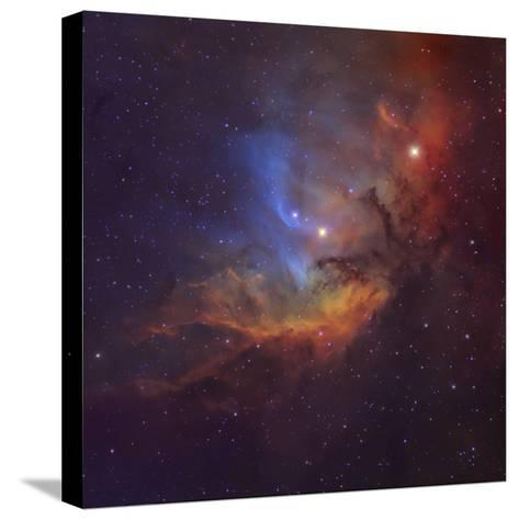 The Tulip Nebula (Sh2-101) in Cygnus-Stocktrek Images-Stretched Canvas Print