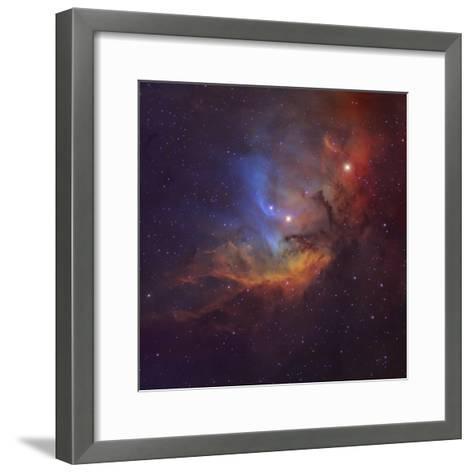 The Tulip Nebula (Sh2-101) in Cygnus-Stocktrek Images-Framed Art Print