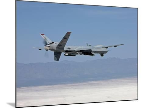 An MQ-9 Reaper Flies a Training Mission Over New Mexico-Stocktrek Images-Mounted Photographic Print