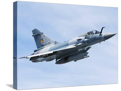 Mirage 2000C of the French Air Force-Stocktrek Images-Stretched Canvas Print