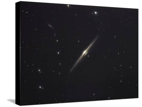 NGC 4565, An Edge-on Unbarred Spiral Galaxy in the Constellation Coma Berenices-Stocktrek Images-Stretched Canvas Print