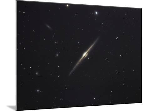 NGC 4565, An Edge-on Unbarred Spiral Galaxy in the Constellation Coma Berenices-Stocktrek Images-Mounted Photographic Print
