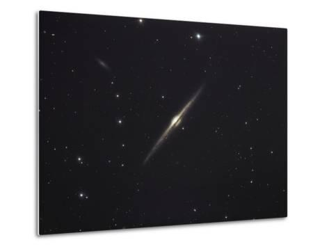 NGC 4565, An Edge-on Unbarred Spiral Galaxy in the Constellation Coma Berenices-Stocktrek Images-Metal Print