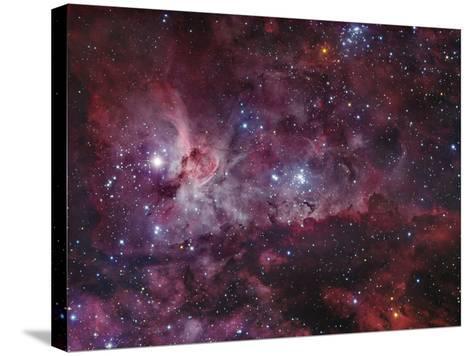 NGC 3372, the Eta Carinae Nebula-Stocktrek Images-Stretched Canvas Print
