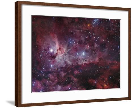NGC 3372, the Eta Carinae Nebula-Stocktrek Images-Framed Art Print