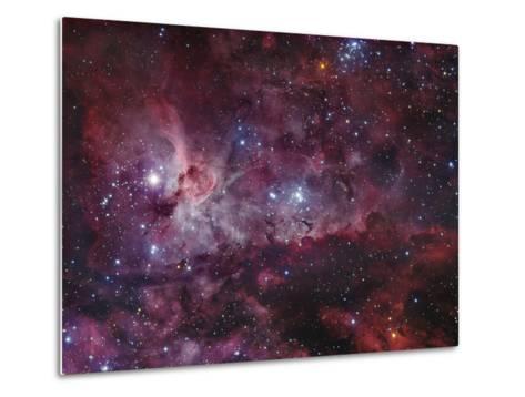 NGC 3372, the Eta Carinae Nebula-Stocktrek Images-Metal Print