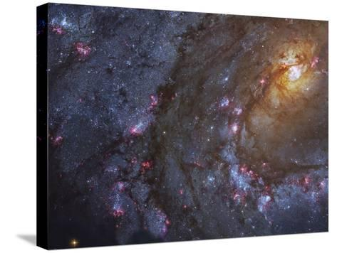 Close-up of the Southern Pinwheel Galaxy-Stocktrek Images-Stretched Canvas Print