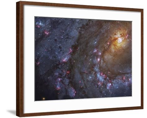 Close-up of the Southern Pinwheel Galaxy-Stocktrek Images-Framed Art Print