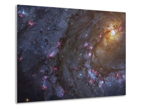 Close-up of the Southern Pinwheel Galaxy-Stocktrek Images-Metal Print