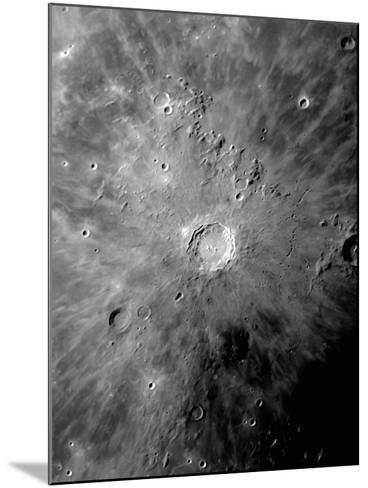 Lunar Crater Copernicus Surrounded by Impact Residue-Stocktrek Images-Mounted Photographic Print