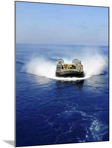 A Landing Craft Air Cushion in the Mediterranean Sea-Stocktrek Images-Mounted Photographic Print