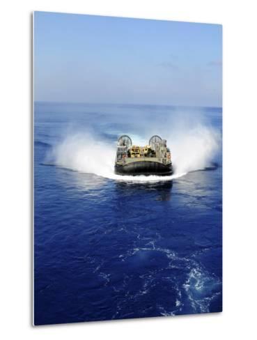 A Landing Craft Air Cushion in the Mediterranean Sea-Stocktrek Images-Metal Print