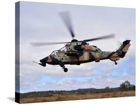 An Australian Army Tiger Helicopter Flies a Reconnaissance Mission-Stocktrek Images-Stretched Canvas Print