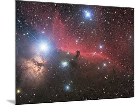 Horsehead Nebula And Flame Nebula in Orion-Stocktrek Images-Mounted Photographic Print