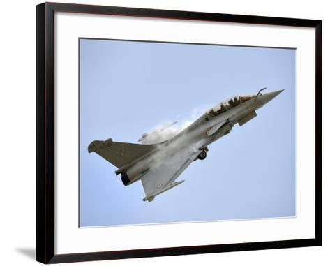 A Dassault Rafale of the French Air Force in Flight Over Malaysia-Stocktrek Images-Framed Art Print