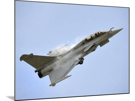 A Dassault Rafale of the French Air Force in Flight Over Malaysia-Stocktrek Images-Mounted Photographic Print
