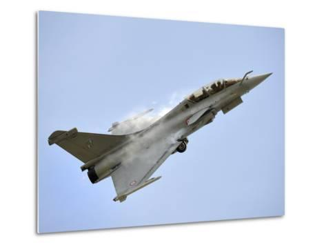 A Dassault Rafale of the French Air Force in Flight Over Malaysia-Stocktrek Images-Metal Print