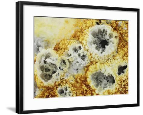 Fumaroles in Potassium Salt Deposits, Dallol Geothermal Area, Danakil Depression, Ethiopia-Stocktrek Images-Framed Art Print