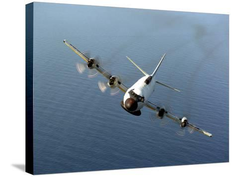 Front View of An EP-3E Orion Aircraft-Stocktrek Images-Stretched Canvas Print