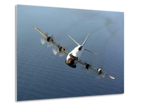 Front View of An EP-3E Orion Aircraft-Stocktrek Images-Metal Print