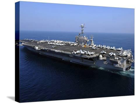 The Nimitz-class Aircraft Carrier USS John C. Stennis-Stocktrek Images-Stretched Canvas Print