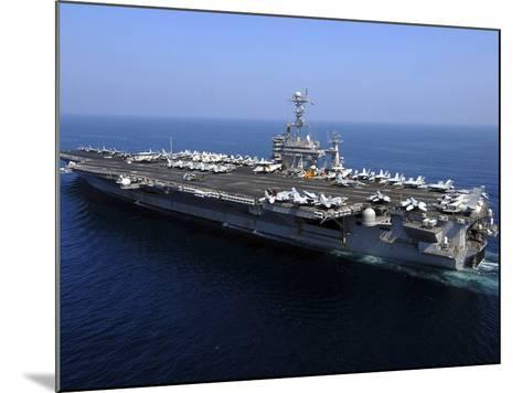 The Nimitz-class Aircraft Carrier USS John C. Stennis-Stocktrek Images-Mounted Photographic Print