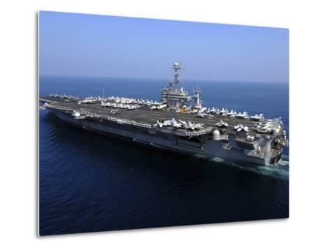 The Nimitz-class Aircraft Carrier USS John C. Stennis-Stocktrek Images-Metal Print
