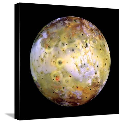 Jupiter's Moon Lo-Stocktrek Images-Stretched Canvas Print