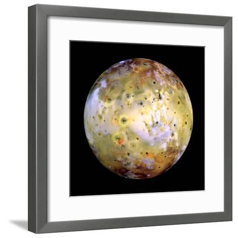 Jupiter's Moon Lo-Stocktrek Images-Framed Art Print