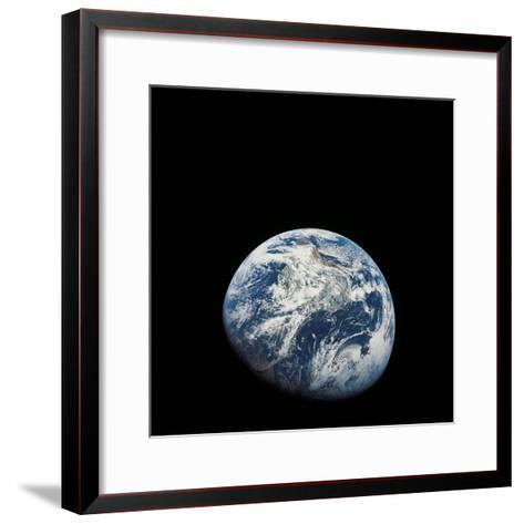 View of Earth Taken from the Aollo 8 Spacecraft-Stocktrek Images-Framed Art Print