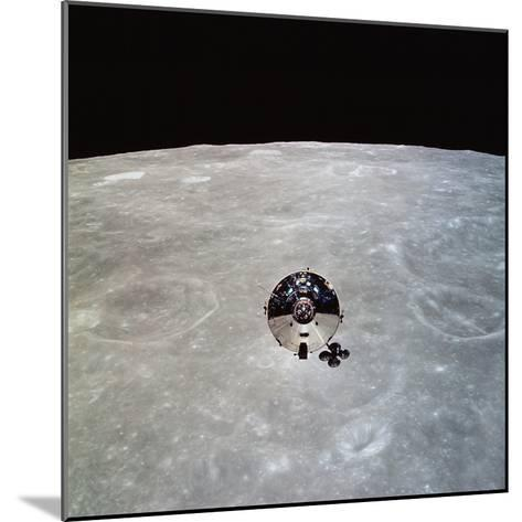 The Apollo 10 Command And Service Modules in Lunar Orbit-Stocktrek Images-Mounted Photographic Print
