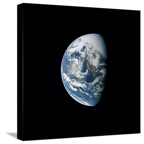 View of Earth Taken from the Apollo 13 Spacecraft-Stocktrek Images-Stretched Canvas Print
