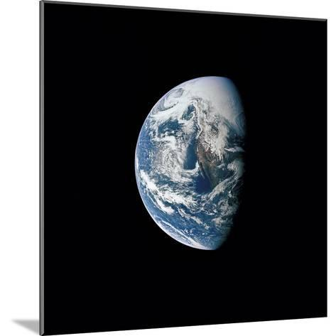 View of Earth Taken from the Apollo 13 Spacecraft-Stocktrek Images-Mounted Photographic Print