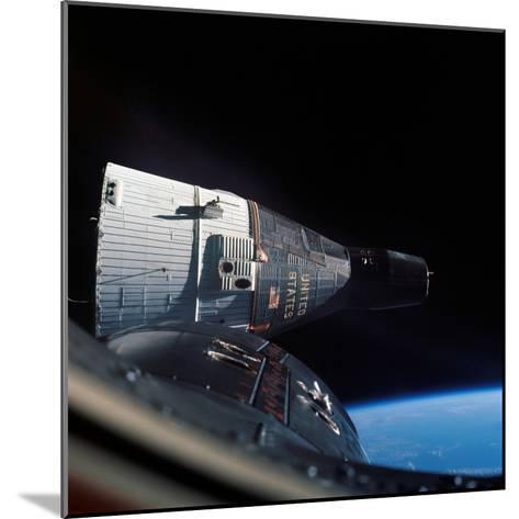 The Gemini 7 Spacecraft in Earth Orbit-Stocktrek Images-Mounted Photographic Print