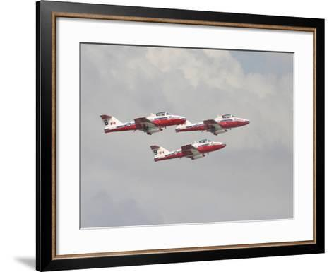 The Snowbirds 431 Air Demonstration Squadron of the Royal Canadian Air Force-Stocktrek Images-Framed Art Print