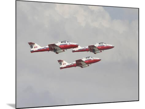 The Snowbirds 431 Air Demonstration Squadron of the Royal Canadian Air Force-Stocktrek Images-Mounted Photographic Print