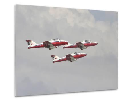 The Snowbirds 431 Air Demonstration Squadron of the Royal Canadian Air Force-Stocktrek Images-Metal Print