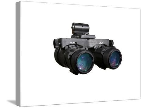 AN/AVS-6 Night Vision Goggles Used by the Military-Stocktrek Images-Stretched Canvas Print