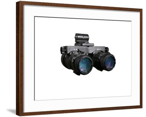 AN/AVS-6 Night Vision Goggles Used by the Military-Stocktrek Images-Framed Art Print
