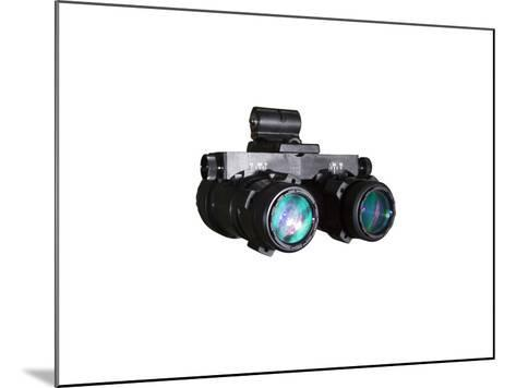 AN/AVS-6 Night Vision Goggles Used by the Military-Stocktrek Images-Mounted Photographic Print