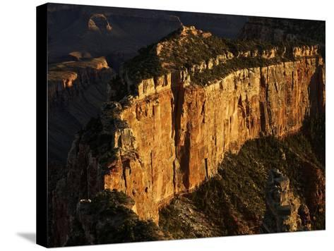 Wotan's Throne, Grand Canyon National Park, Arizona-Stocktrek Images-Stretched Canvas Print