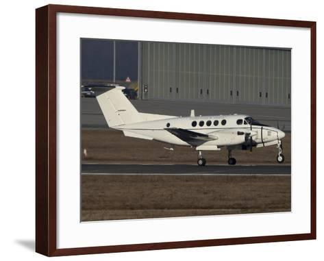 U.S. Army C-12 Huron Liaison Aircraft-Stocktrek Images-Framed Art Print