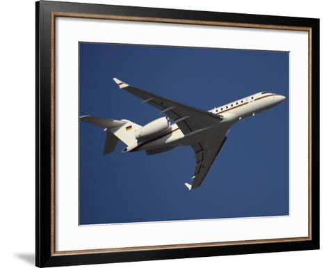 A Bombardier Global 5000 VIP Jet of the German Air Force-Stocktrek Images-Framed Art Print